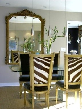 Stupendous Animal Print Dining Room Chairs Ideas On Foter Squirreltailoven Fun Painted Chair Ideas Images Squirreltailovenorg