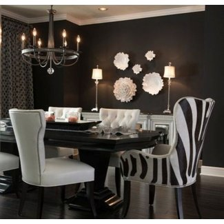 Cool Animal Print Dining Room Chairs Ideas On Foter Download Free Architecture Designs Aeocymadebymaigaardcom