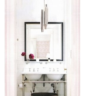 Pedestal sink console foter for Bathroom sinks for small spaces