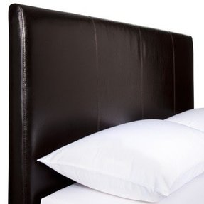 Black king size headboard