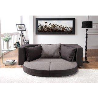 Attrayant Breyani Two Tone Contemporary Sofa Bed