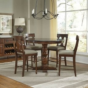 Round Counter Height Dining Table Set Foter