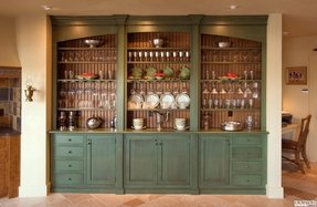 Built in china cabinet designs