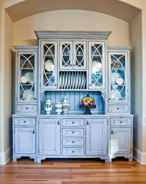 Built in china hutch 1