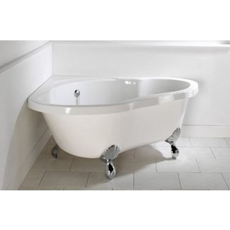Corner freestanding tub 2