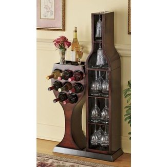 Corner Wine Glass Rack Ideas On Foter
