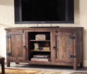 Country style tv cabinet 1
