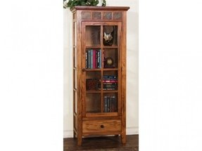 Curio cabinet with drawers 21
