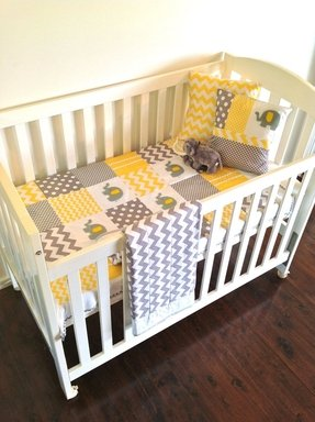 Cute baby crib bedding 6