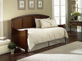 daybed with pop up trundle wood foter. Black Bedroom Furniture Sets. Home Design Ideas