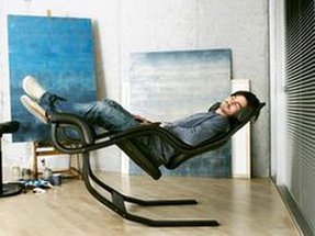 Ergonomic rocking chair