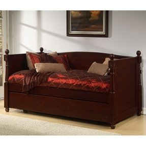 Daybed With Pop Up Trundle Wood Foter