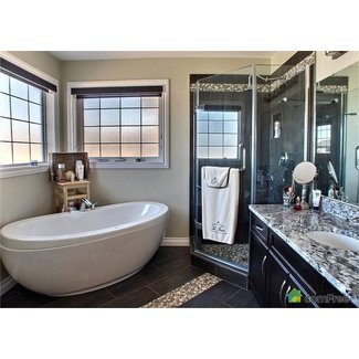 Freestanding corner bathtubs