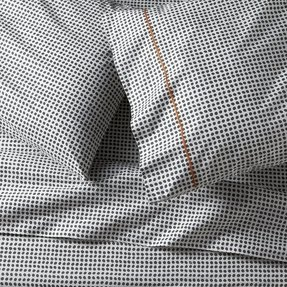 Grey patterned sheets