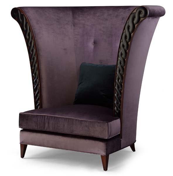 Merveilleux High Back Club Chair 5