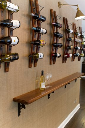 Iron wine racks 6