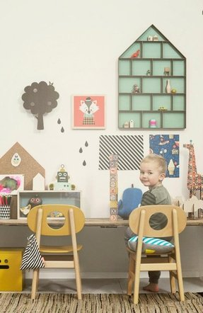 Kids Desk With Drawers Foter
