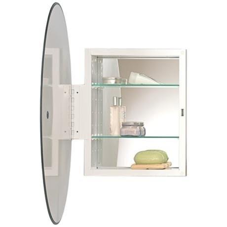 Kohler oval mirror medicine cabinet  sc 1 st  Foter & Recessed Oval Medicine Cabinet - Foter