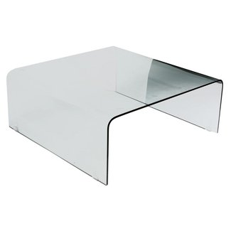Large Square Glass Coffee Table 5