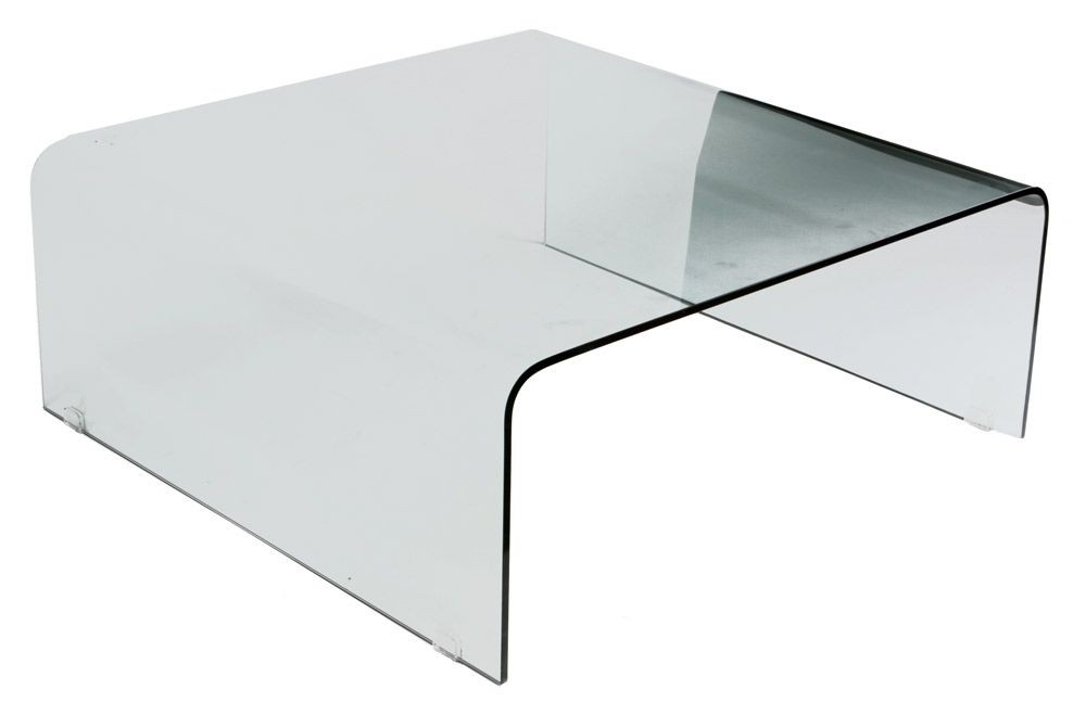 Attrayant Large Square Glass Coffee Table 1