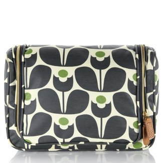 Large toiletry bag with compartments 1