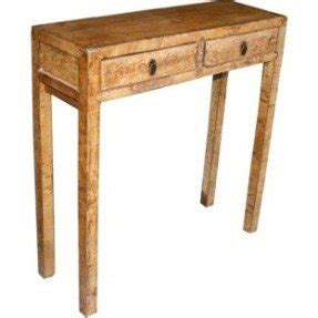 Leather Console Table 11