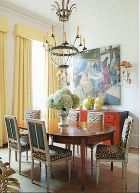 Leopard Dining Chairs