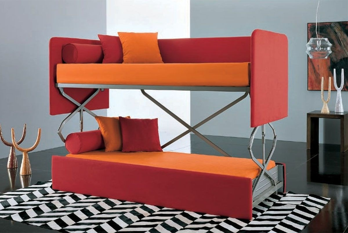 Ordinaire Modern Pull Out Sofa Bed 1