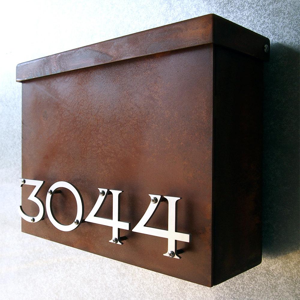 Modern Wall Mount Mailbox   Foter