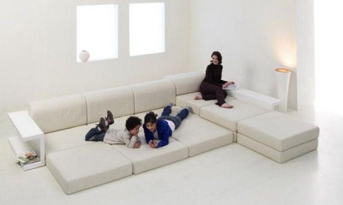 Incroyable Modular Sleeper Sofa