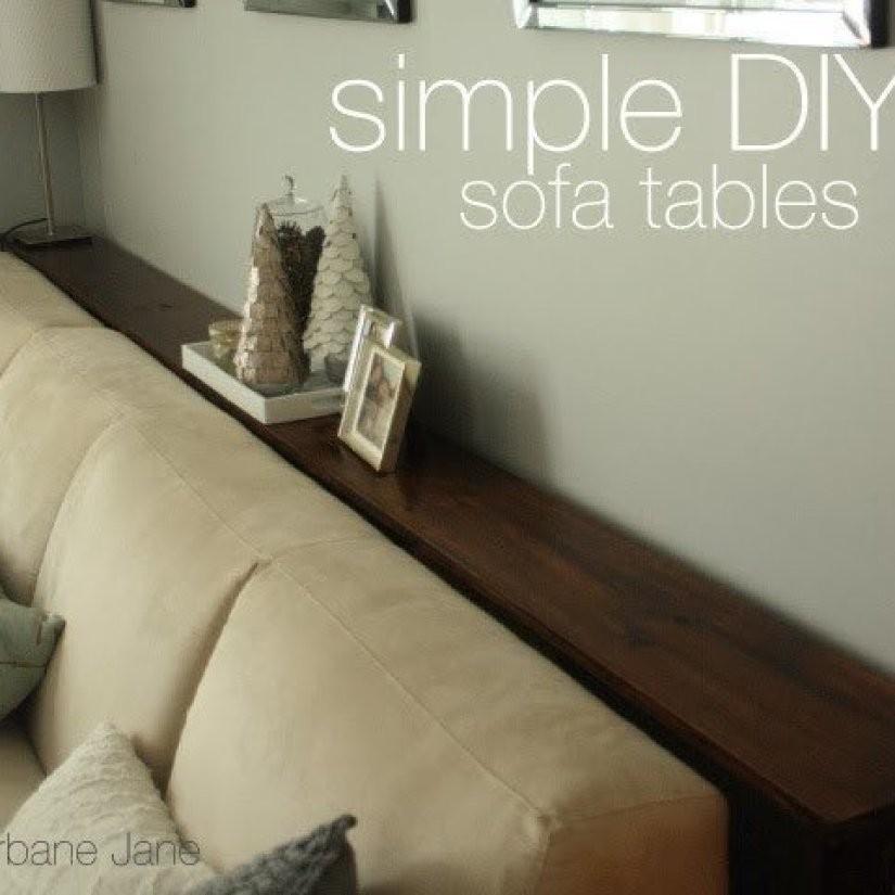 Narrow Sofa Table 1