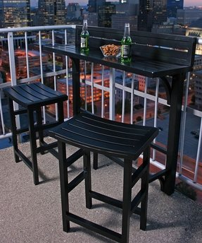 Outside patio bar ideas