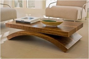 Oversized square coffee table 8