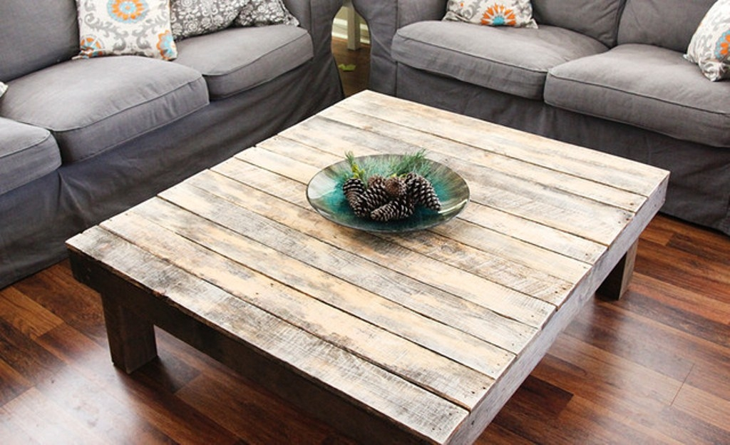Oversized Square Coffee Table   Foter