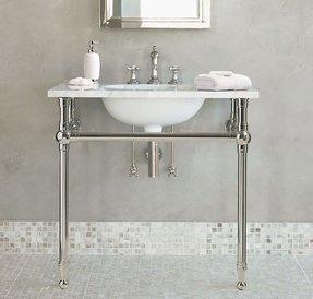 Pedestal Sink Console Ideas On Foter
