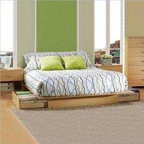 platform bed frames for sale foter. Black Bedroom Furniture Sets. Home Design Ideas