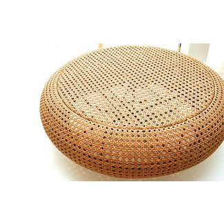 Rattan round coffee table 1