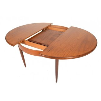 Round Dining Table With Erfly Leaf