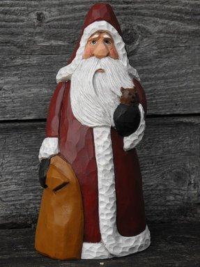 Santa figurines collectibles 5