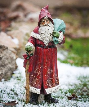 Santa figurines collectibles 7