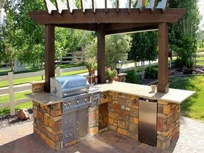Small Outdoor Bar - Foter