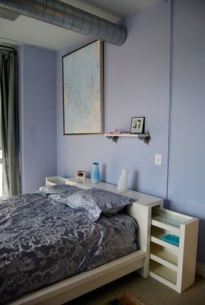 Storage headboard twin 1