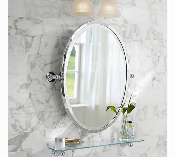 Superior Sussex Oval Mirror