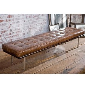 Phenomenal Tufted Leather Cocktail Ottoman Ideas On Foter Ibusinesslaw Wood Chair Design Ideas Ibusinesslaworg