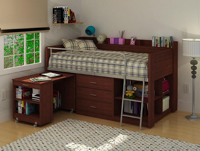 Under Loft Bed Storage Ideas