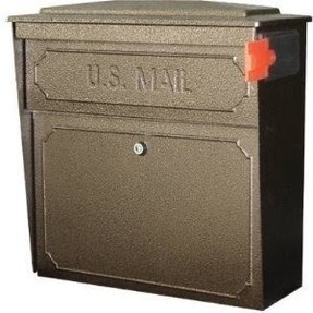 Wall Mount Mailbox With Flag