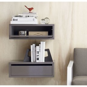 Wall Mounted Media Storage - Ideas on Foter