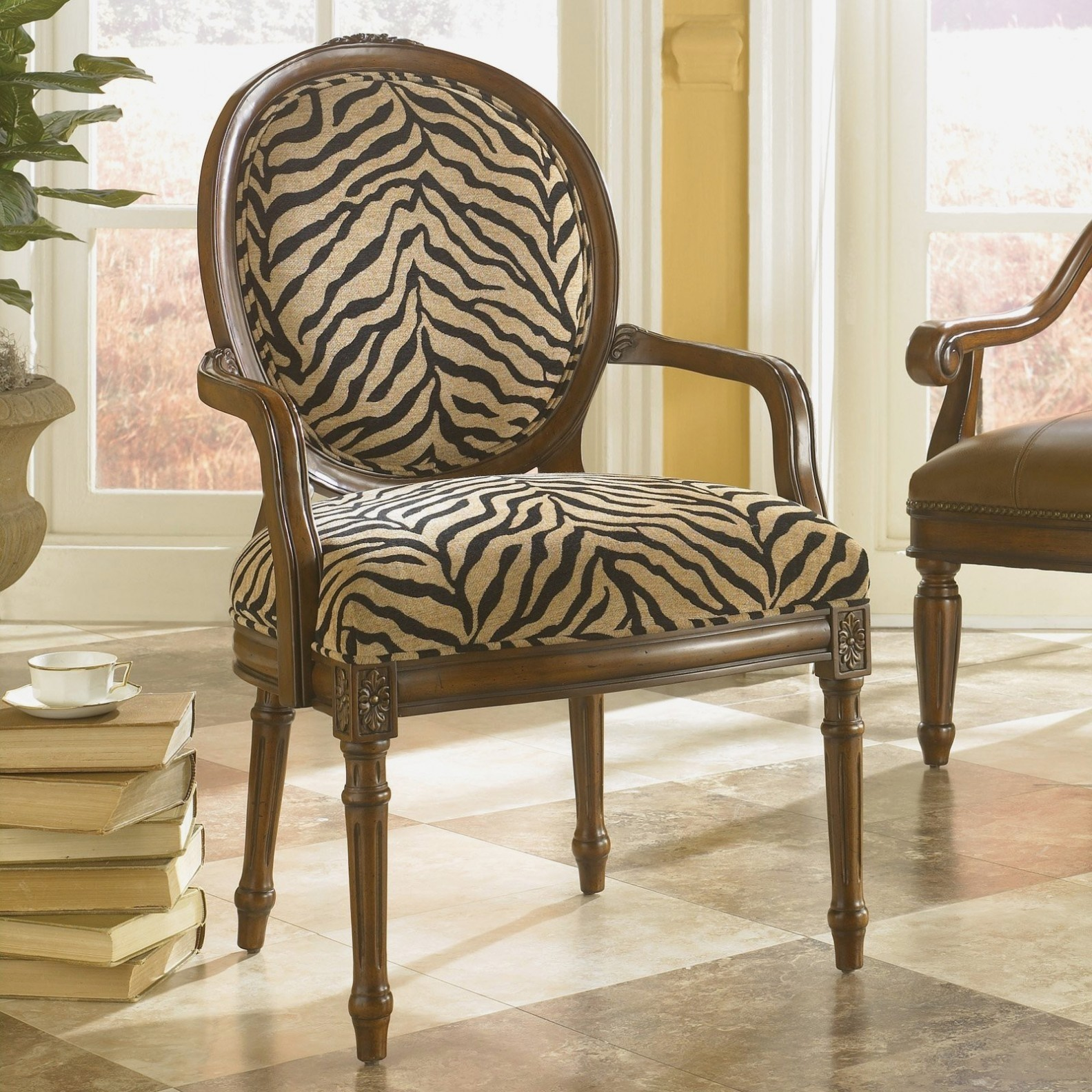 Zebra Print Dining Chairs
