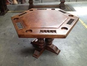 8 seat poker table