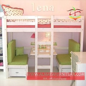 Bunk Bed With Table Underneath Ideas On Foter